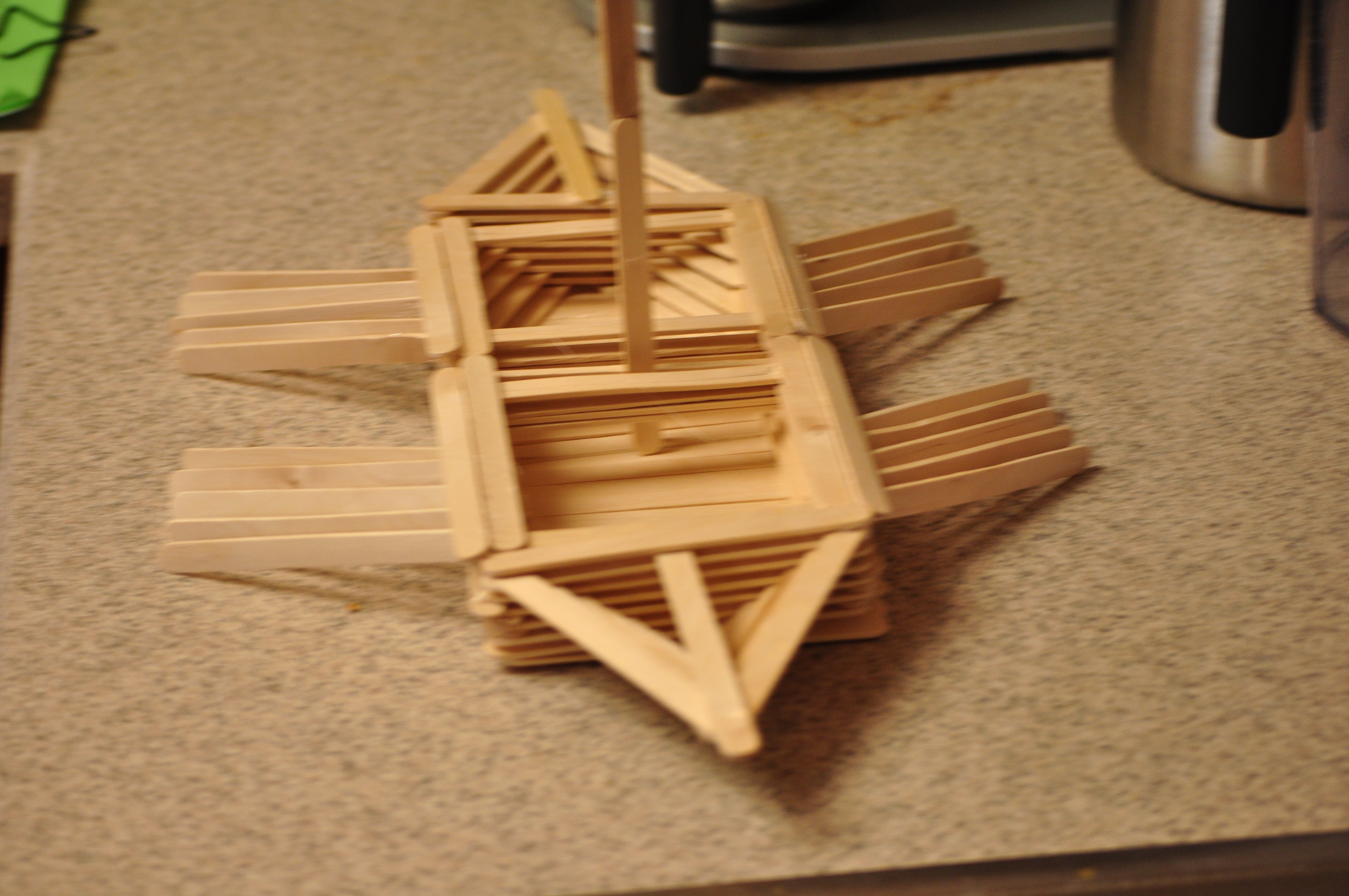 How to make a viking boat out of popsicle sticks