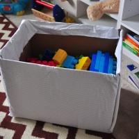 Upcycled: Cardboard Toy Box
