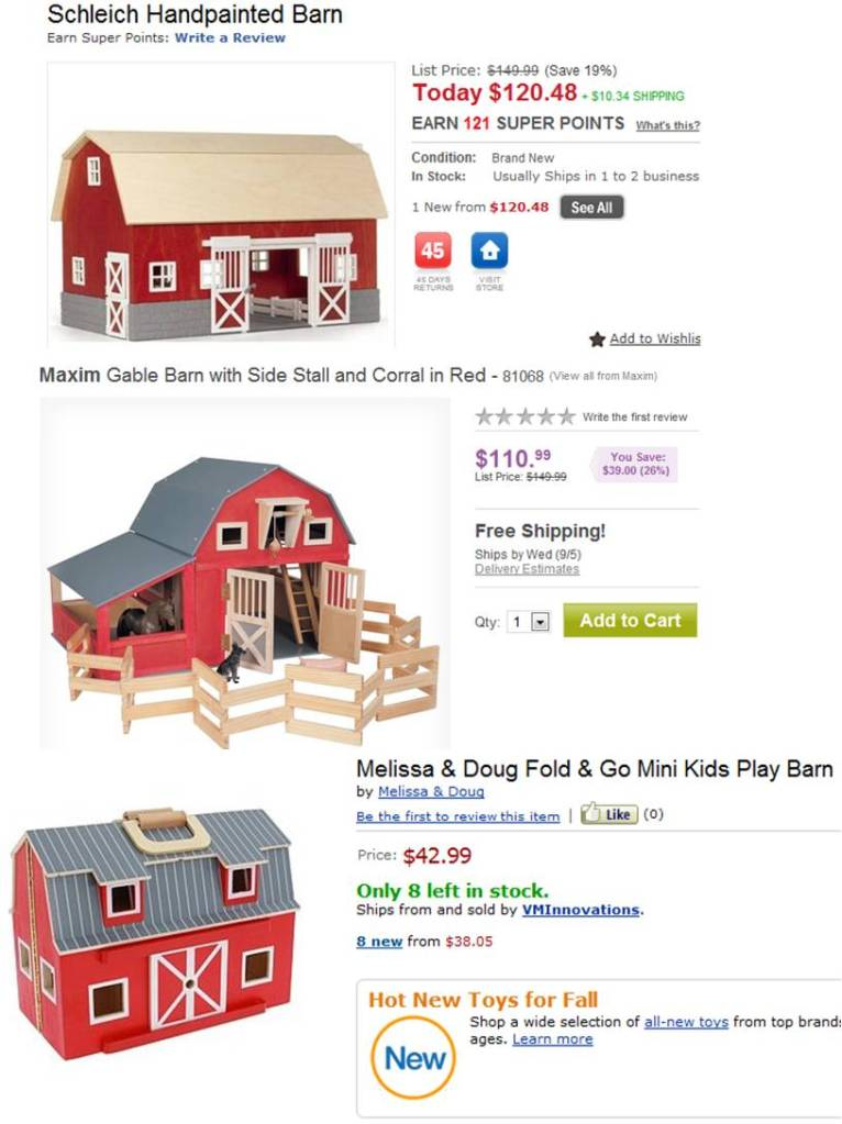 Upcycled: Cardboard Box Play Barn & Farmyard