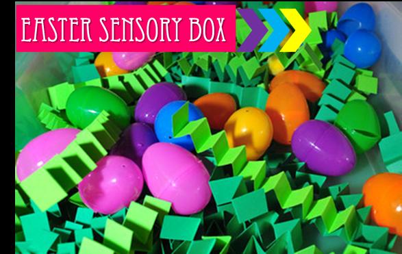 easter sensory box