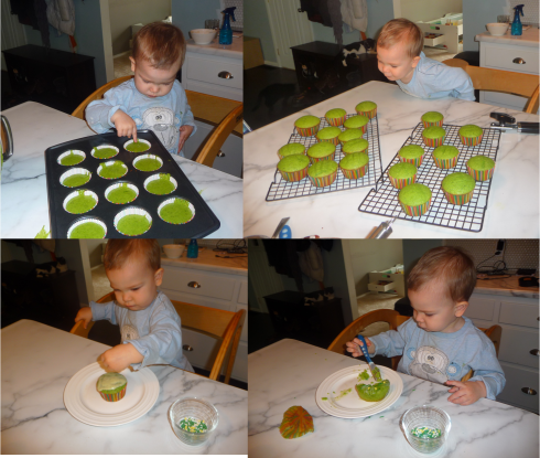 spinach cupcakes matty